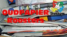 Oudpapier Roosters 2018
